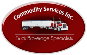 Commodity Services Truck Brokerage Specialists Logo